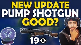 NEW SHOTGUN UPDATE - IS THE PUMP GOOD NOW? | TOMATO TEMPLE | RIFT TO GO- (Fortnite Battle Royale) thumbnail