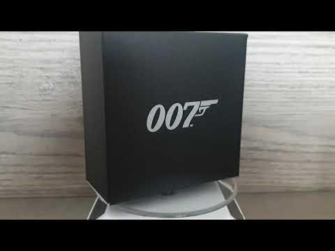 1 dollar silver proof 007 James Bond 2020 Tuvalu