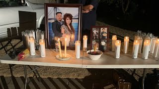 Vigil held for family of victims in Fresno backyard shooting