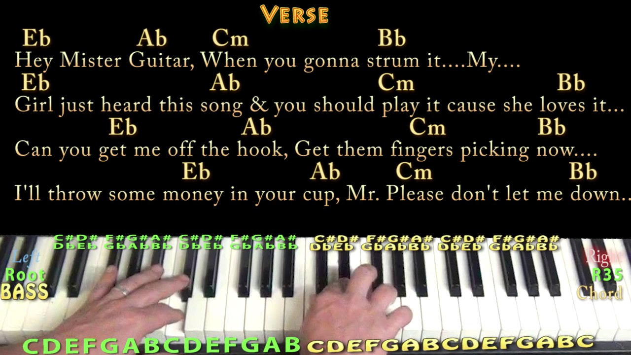 Play that song train piano cover lesson in eb with chordslyrics play that song train piano cover lesson in eb with chordslyrics arpeggios hexwebz Choice Image