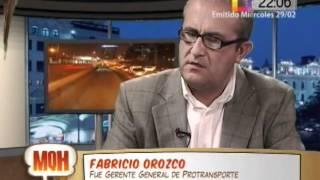 Fabricio Orozco: ineficiencia de Villarán podría costarnos 185 millones de soles (parte 2)