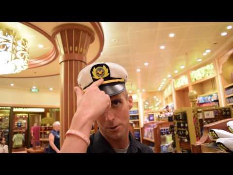 DVCguys - Disney Fantasy Day 2 - Part I - Day at Sea, Captain's Reception, The Tube, Shopping
