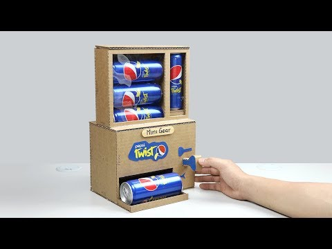 How to Make Pepsi Vending Machine with Secret Key