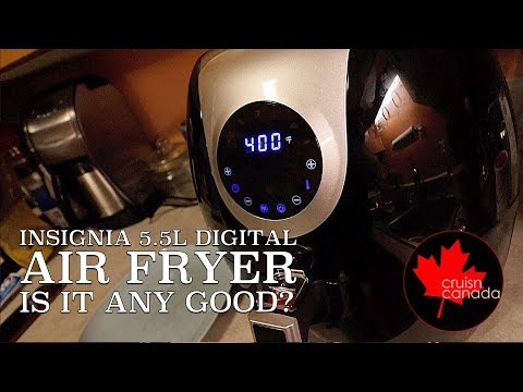 insignia Air Fryer Review | So far we love this thing!