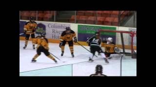 Warhorse 2 Midget Hockey Playoff goals 2015
