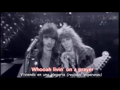 Download Bon Jovi - Livin' On A Prayer [Lyrics y Subtitulos en Español] (Official Video)