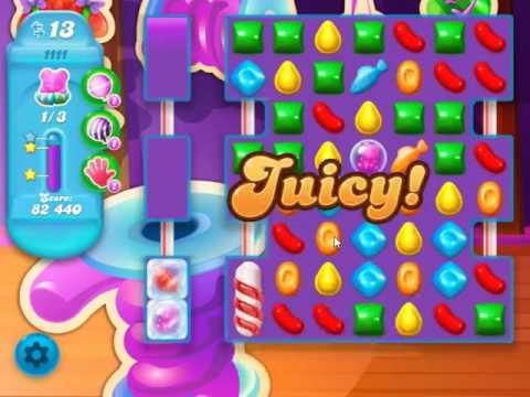 Candy Crush Soda Saga Level 1111 - NO BOOSTERS