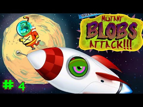 ЛИЗУН СЛИЗНЯК ПРОГЛОТИЛ ВОЕННУЮ БАЗУ симулятор слизня в детской игре Mutant Blobs Attack #4