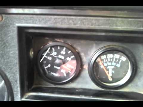 VDO Alternator triggered tach on 1985 CUCV M1009 - YouTube