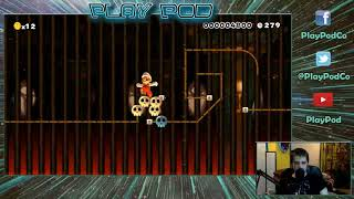 Super Mario Maker: Give me your levels (Stream 1) PlayPod