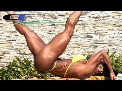 SAVAGE BRAZILIAN FEMALE FITNESS MOTIVATION (Gracyanne Barbosa)