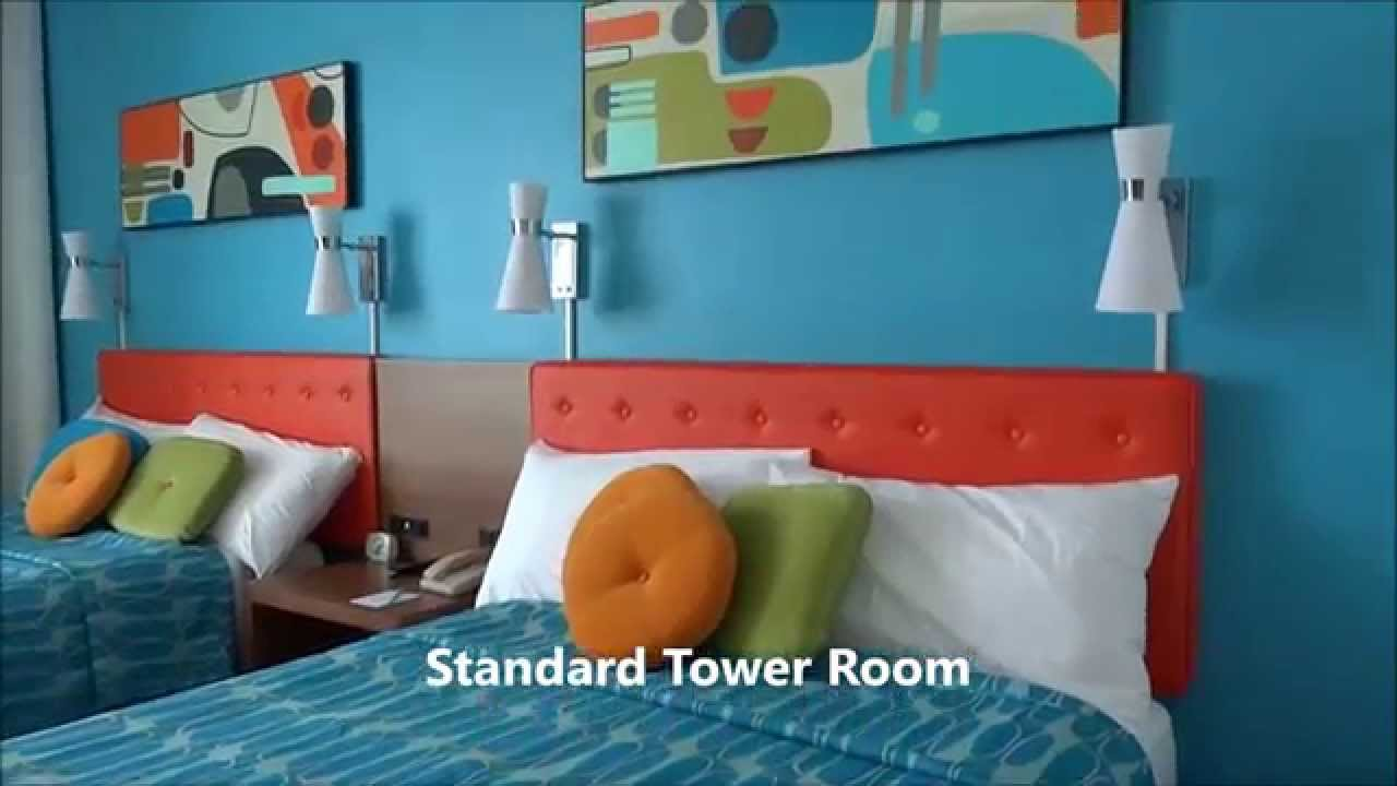 Cabana Bay Beach Resort Standard Pool View Tower Room Tour