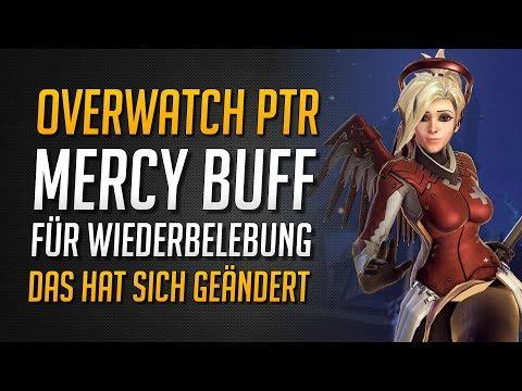 MERCY PTR TWEAK / BUFF | Extra Wiederbelebung durch Ultimate | Das ist Neu! ★ Overwatch Deutsch