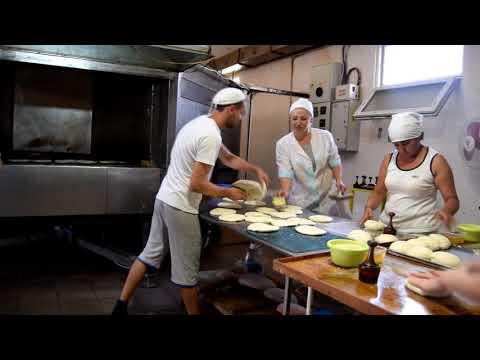 Подовая печь для производства тандырной лепешки