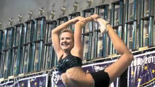 Hannah Mize from Cheer Extreme in Kernersville, video by JTV, music by Pitbull