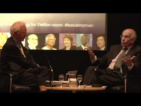 Thinking Fast and Slow - Daniel Kahneman in conversation with Richard Layard