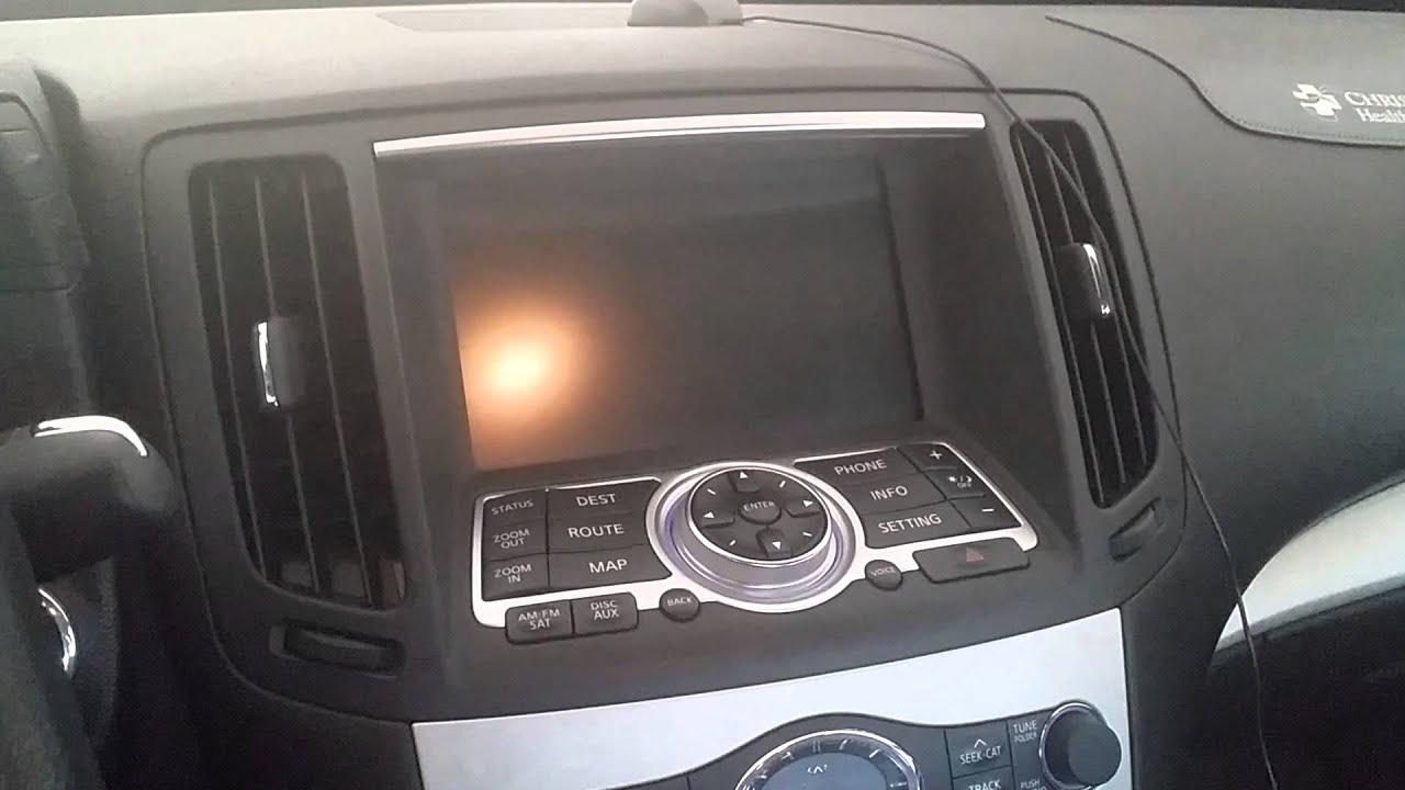 2007 g35 g37 sedan no radio ac navigation not working stuck youtube vanachro Choice Image