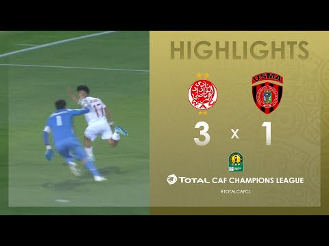 Wydad Athletic Club  3-1 USM Alger | HIGHLIGHTS | Match Day 5 | TotalCAFCL