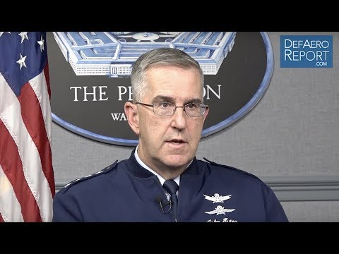 STRATCOM's Hyten on Deterring Russia, Modernizing the Nuclear Triad, Preventing War in Space
