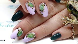 Дизайн на короткие ногти  Дизайн ногтей в стиле Дорого Богато