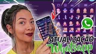CHEGOU!! Modo Escuro no Whatsapp + Novos Emojis *Android e Ios*