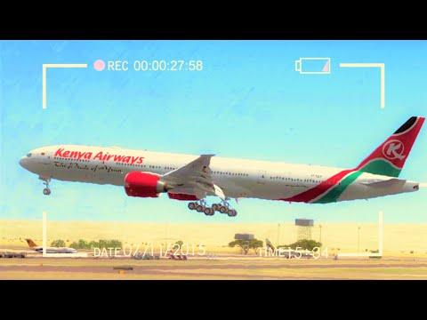 FSX Realistic HD -  Spotting Jomo Kenyatta Int Airport 25 minutes!