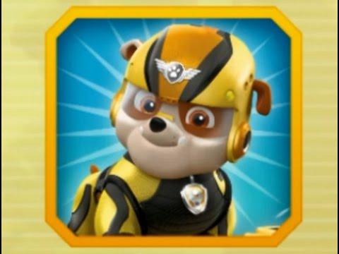 Щенячий патруль. В полет! Крепыш спасает обезьянок. Мультик игра для детей для малышей. Paw Patrol