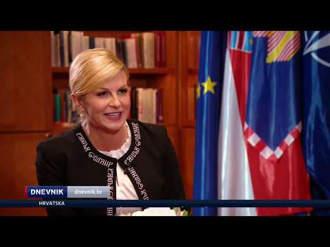 Predsjednica Kolinda Grabar-Kitarović za Dnevnik Nove TV o aferama koje potresaju zemlju