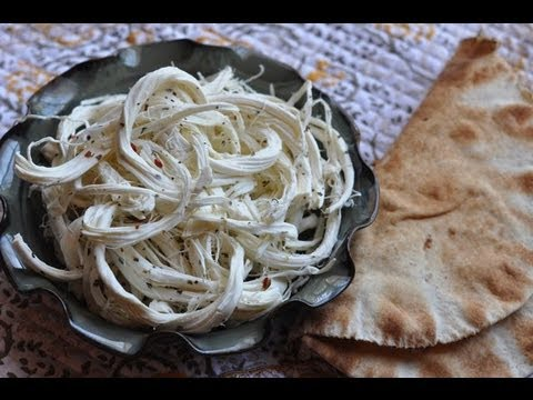 Marinated Syrian String Cheese