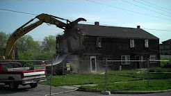 Valley Homes Demolition, Lincoln Heights, Ohio