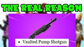 Le VRAI REASON WHY PUMP SHOTGUN EST REMOVED DE la saison 9!! (Fortnite Saison 9 NEW Shotgun)