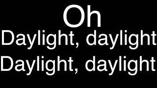skillet stay til the daylight lyrics