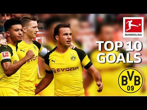 Top 10 Goals Borussia Dortmund 2018/19 - Sancho, Alcacer, Reus & More