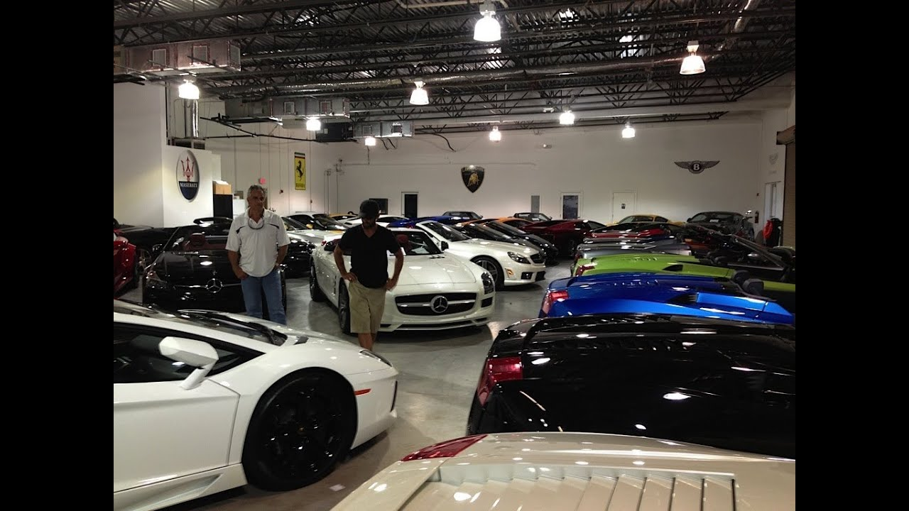 Ultimate Car Garage... - YouTube
