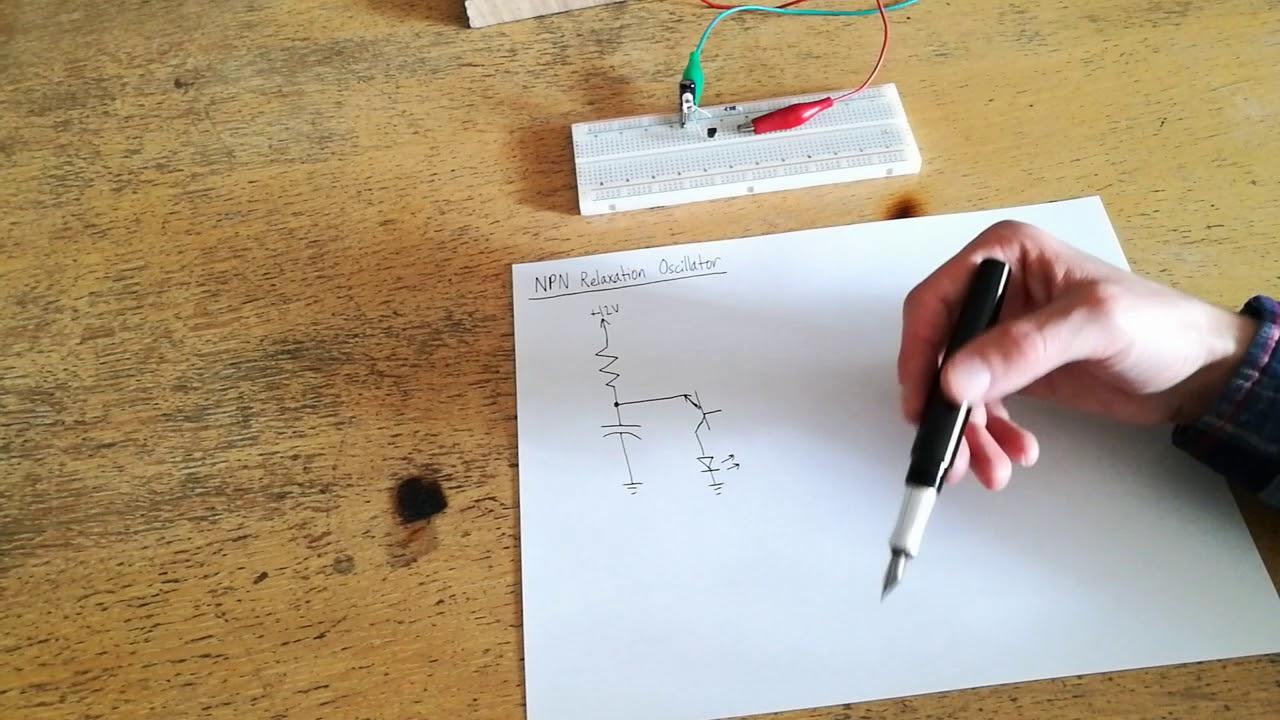 Ep 49 A Very Strange Circuit Npn Relaxation Oscillator Youtube Reverse Bias