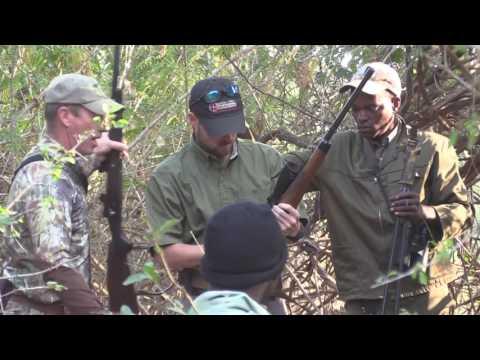 Hunting a Waterbuck