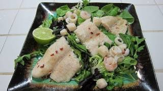 Thai Seafood Salad | Deliciously Healthy How To Recipe