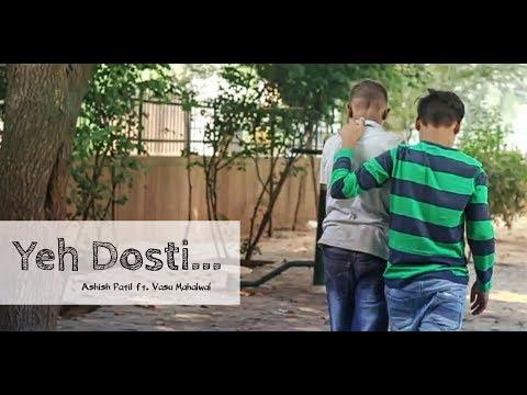 Yeh Dosti Hum Nahi Todenge  || Ashish Patil Ft. Vasu Mahalwal || Sholay || Cover || 2018 HD