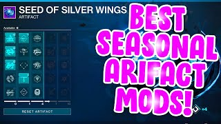 *NEW* Best Seasonal Artifact Mods! - Destiny 2 Season of Arrivals Season 11 Artifact!