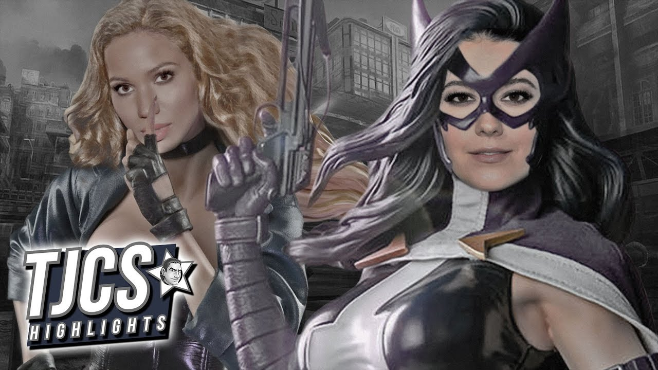 Birds Of Prey Casts Huntress And Black Canary Youtube