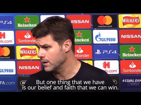 Mauricio Pochettino - 'Tottenham Have Belief They Can Win At Barcelona'
