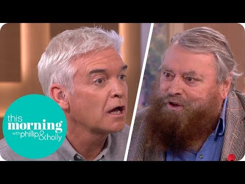 Brian Blessed Leaves Phillip Stunned After Revealing the Size of a Gorilla's Penis!  This Morning