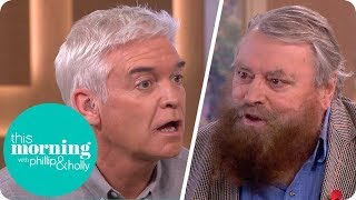 Brian Blessed Leaves Phillip Stunned After Revealing the Size of a Gorilla's Penis! | This Morning