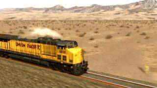 Kelso Train animation
