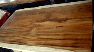 Large Wood Slab Table