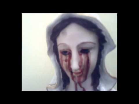 Bleeding Marian Statue At Ghaziabad