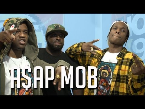 A$AP MOB & FLEX KEEP IT REAL ABOUT KENDRICKS VERSE &  STATE OF HIP HOP