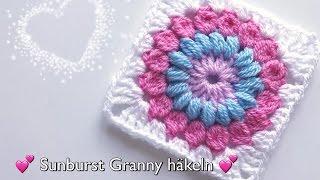 Ganz Einfaches Granny Square Häkeln Granny Babydecke Häkeln Super