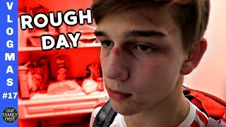 IT'S BEEN A ROUGH DAY || Vlogmas 17