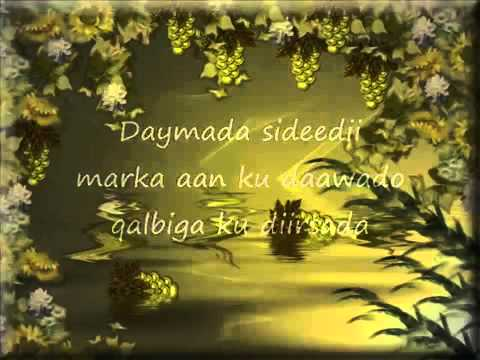 Xassan adan samatar-Dookh-(Lyrics)